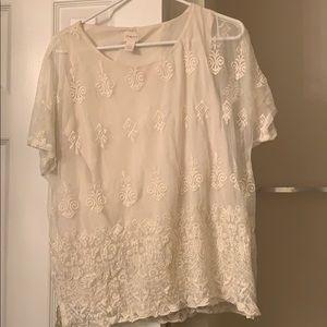 Beautiful short-sleeve top